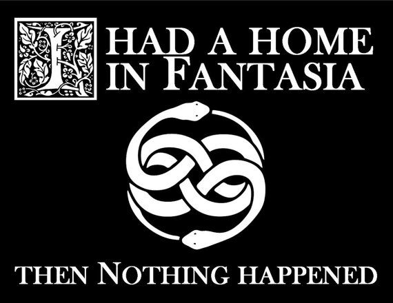 "the neverending story t shirts | The NeverEnding Story ""I Had a Home in Fantasia - Then Nothing ..."