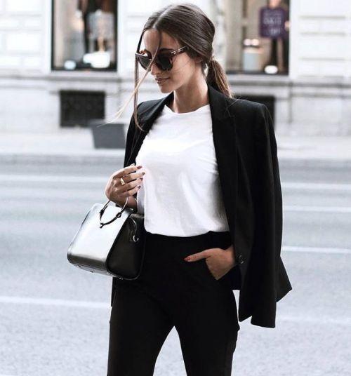thestyle-addict: Blazer T-Shirt