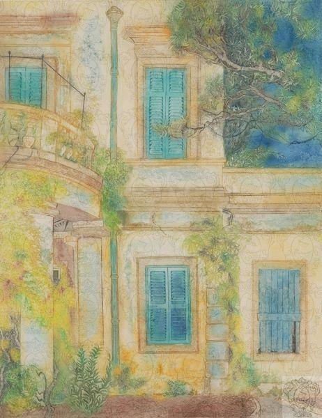 Delia Delderfield Δένδρα και παράθυρα