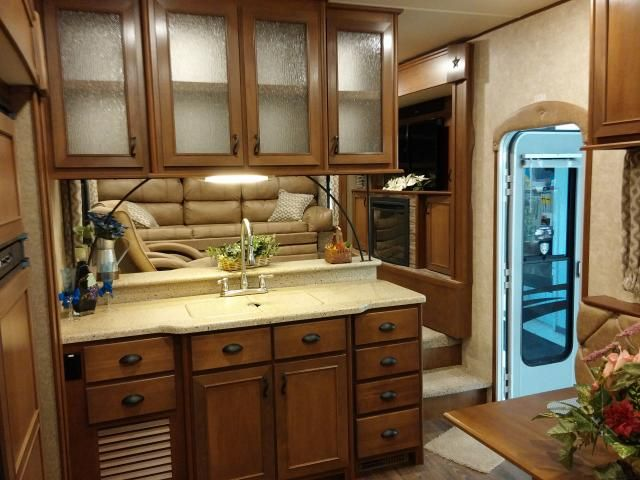 Open Range Light 311flr Front Living Room Fifth Wheel