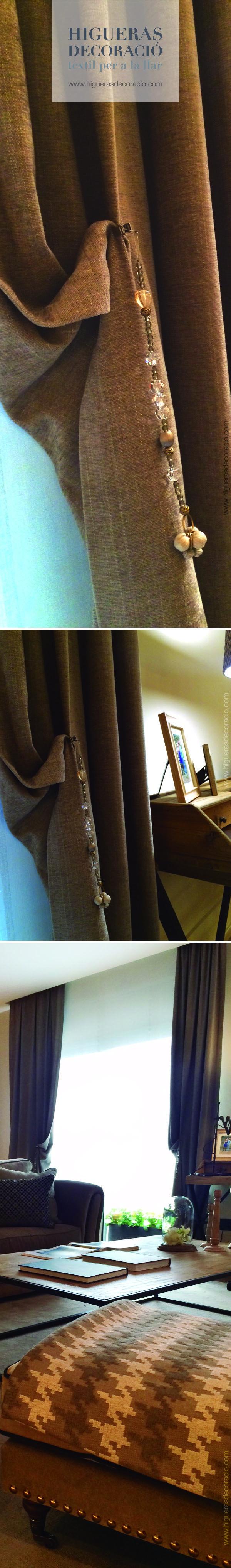 Las 25 mejores ideas sobre cortinas largas en pinterest - Alzapanos para cortinas ...
