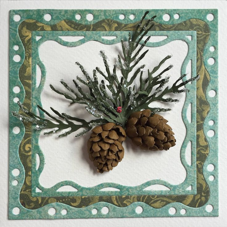 174 best pine cones cards i like images on pinterest for Garden designs by elizabeth