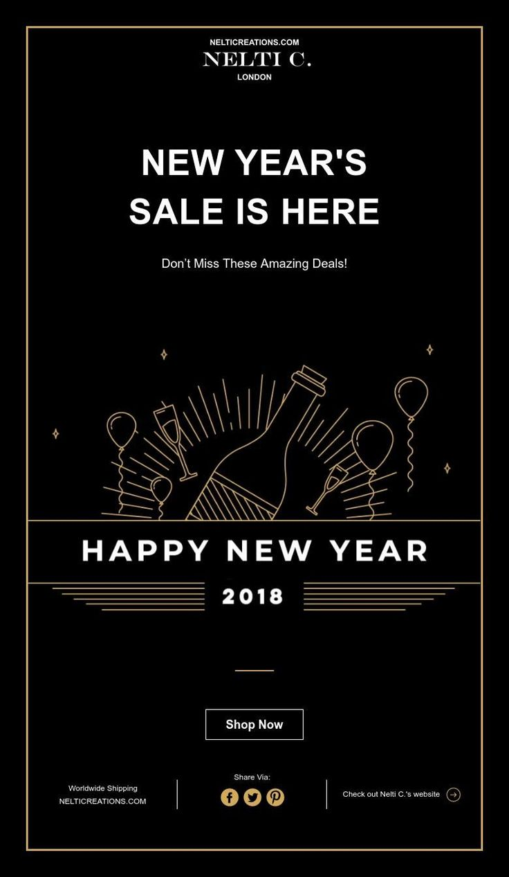 NEW YEAR'S SALE IS HERE  Happy new year - shop our new year sale at www.nelticreations.com