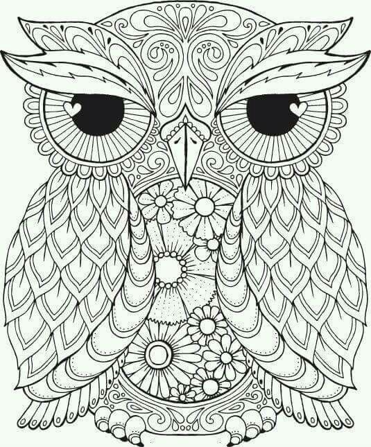 Owl Happy Halloween Pages Happy Halloween Coloring Pages Free