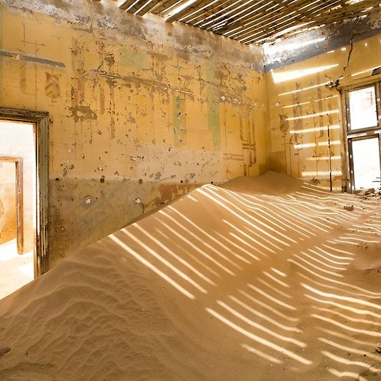 The Desert Inside Kolmanskop, Namibia by SeeOneSoul Photography #Namibia #Travel