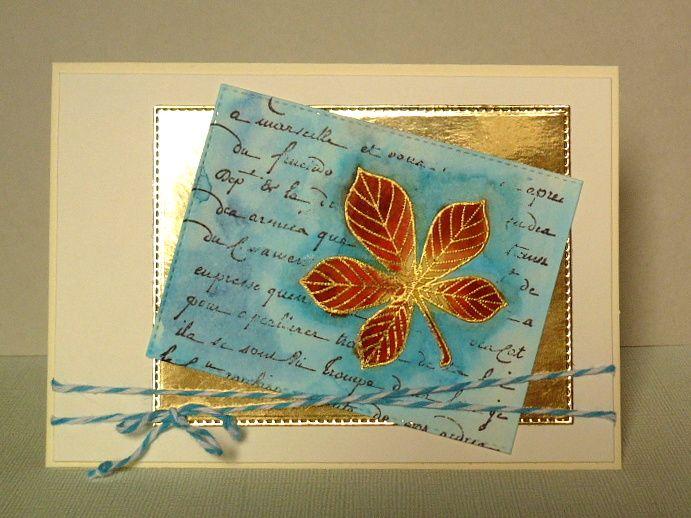 card - autumn