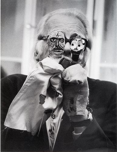 Paul Klee hand puppets. Between 1916 and 1925 artist Klee made 50 puppets. 30 survive..