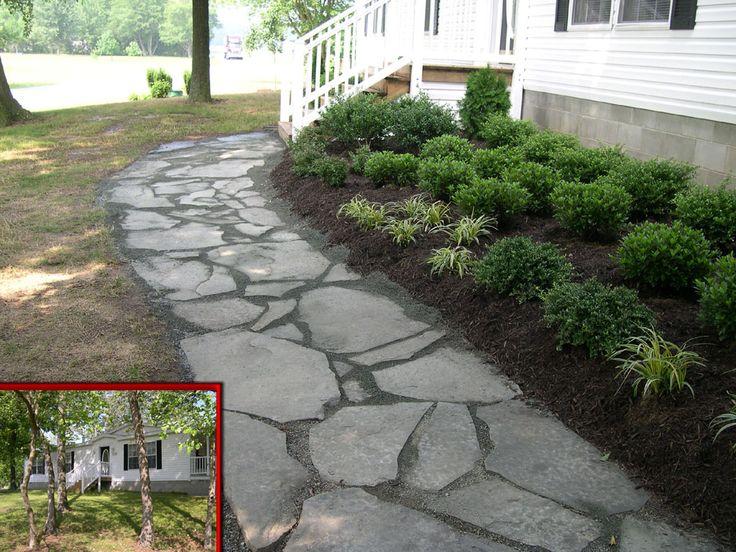 Front sidewalk idea