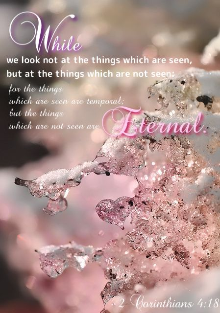 All things will fade away but those who love God will see greater things, eternal things prepared for those who seek his righteousness and holiness. Seek him always,  his reward is greater than that of temporary pleasures on earth.