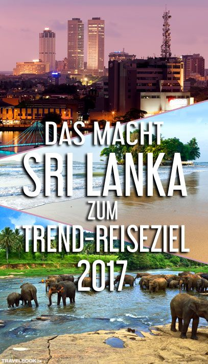 Mehr als 5,5 Millionen Deutsche reisen jährlich in Länder außerhalb Europas und des Mittelmeers. Davon profitiert auch Sri Lanka, ein Land, das touristisch viele Jahre lang kaum eine Rolle spielte. Was es zum Trend-Reiseziel 2017 macht – und was die beliebtesten Orte sind.