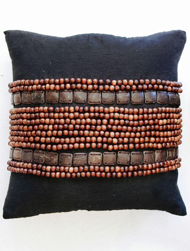 Mid Century Crewel Bracket Geo Pillow Cover - Nightshade : Pin by Thuis met Moon on thuis met Moon * etnic Pinterest