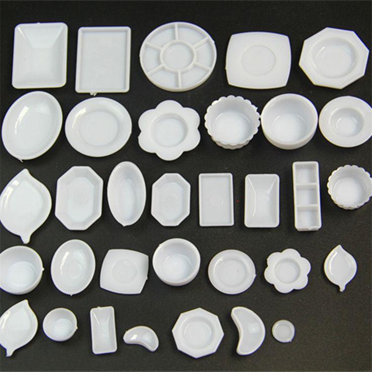 33 шт./компл. кукла Аксессуары мини кухня посуда миниатюры чашка тарелка блюдо Decor игрушки для девочек купить на AliExpress