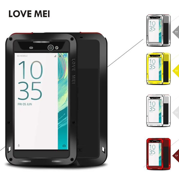>> Click to Buy << LOVE MEI Cover for Sony Xperia XA Ultra Case EXTREME Metal Aluminum Silicone Shockproof for Xperia XA Ultra F3212 F3216 Cover #Affiliate