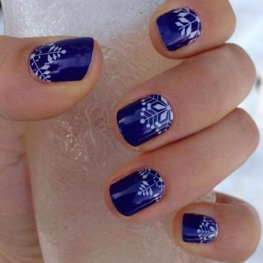 Jamberry Crystalline - Jamberry Nail Wraps are Buy 3, Get 1 FREE! Click here to order -> www.nicoleknaus.jamberrynails.net Christmas, Christmas Nails, Christmas Nail Art