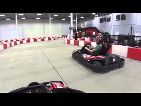 Indoor electric kart racing. Best lap time 22.252. 13471 Crestwood Place, Richmond BC, Canada, V6V 2G4