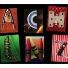 This is a set of photographs of original collage alphabet letters. They are great for use in clip art (think cover page stand outs or drop caps) or for the classroom to spell out a child's name, teachers name or inspirational word. Digital download for all 26 letters.