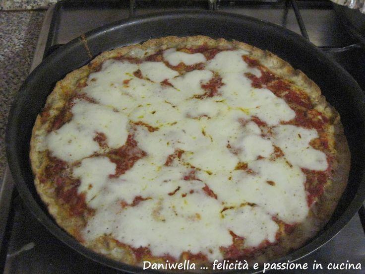 Daniwella  ... felicità e passione in cucina: PIZZA CROCCANTE DI GRANO SARACENO SENZA GLUTINE - ...