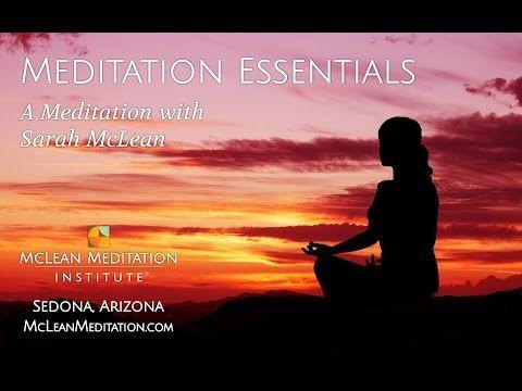 Meditate with Sarah McLean - McLean Meditation Institute