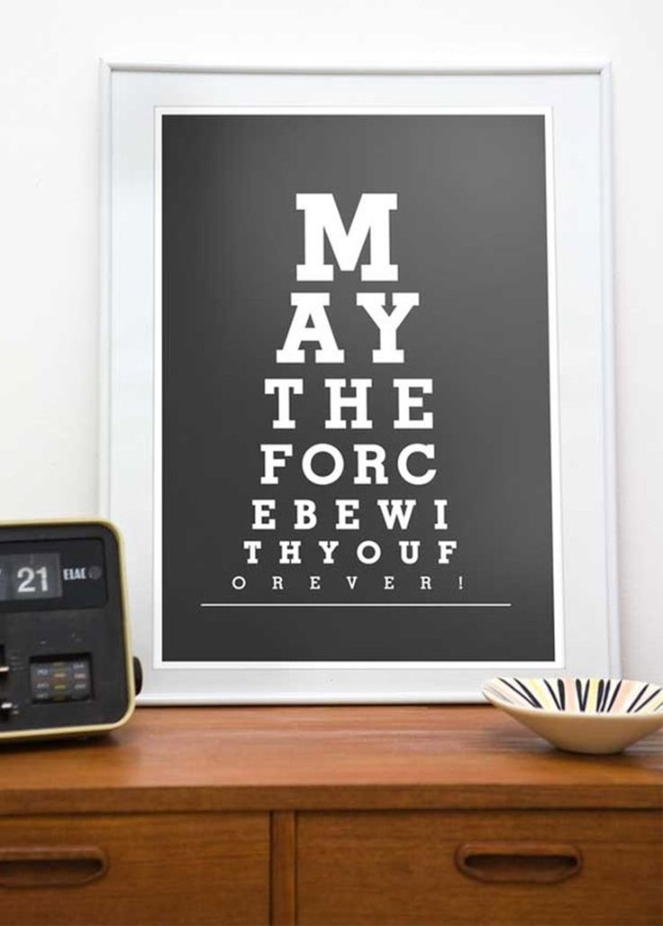 Star Wars, May the force be with You