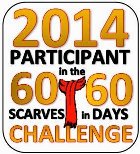 """The 11th annual """"60 scarves in 60 days"""" challenge has just begun - more info @CrochetWithDee"""