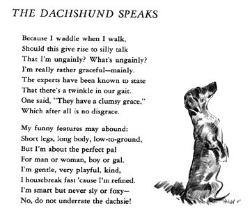 Dog poetry.