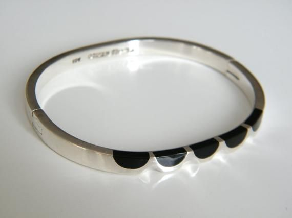 Taxco Engravable Beautiful Open Oval Top Quality Cuff Bracelet