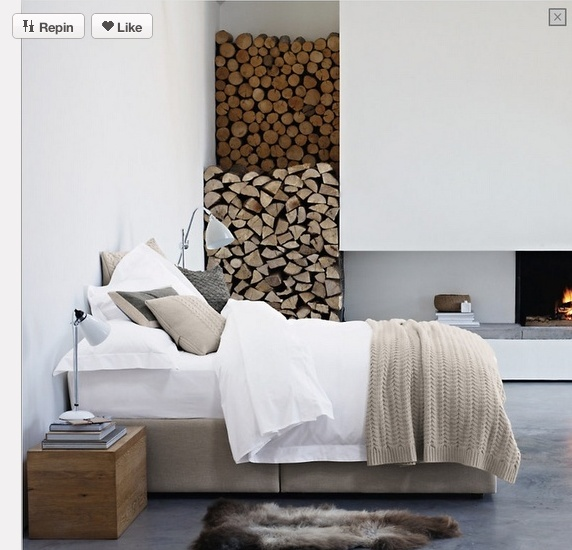 beige, wit in combinatie met beton, hout en gestuukte muren. Mooi ...