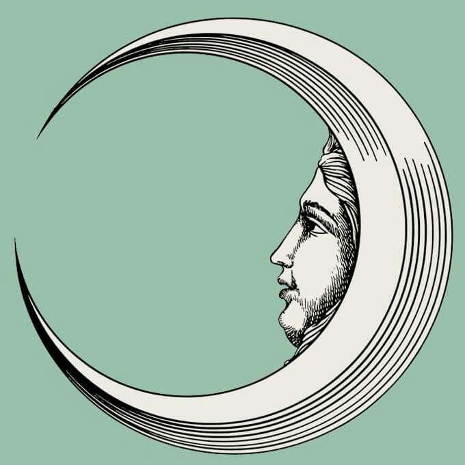 Fornasetti moon.