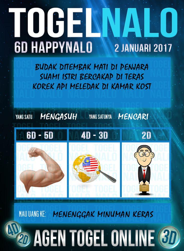 Undian 3D Togel Wap Online Live Draw 6D Kupon HappyNalo Jakarta 2 Januari 2017