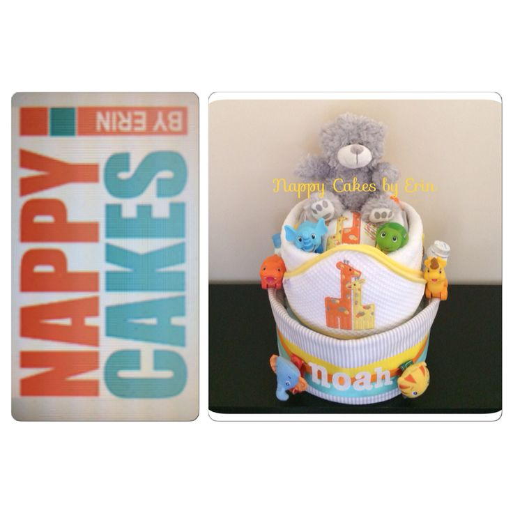 NOAHS ARK CAKES