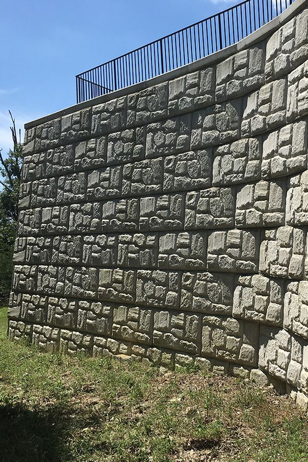 Magnumstone Segmental Retaining Wall At Travilah Grove Rockville Md Retaining Wall Building Rockville