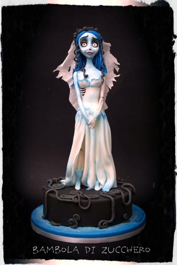 Corpse Bride - Cake by bamboladizucchero