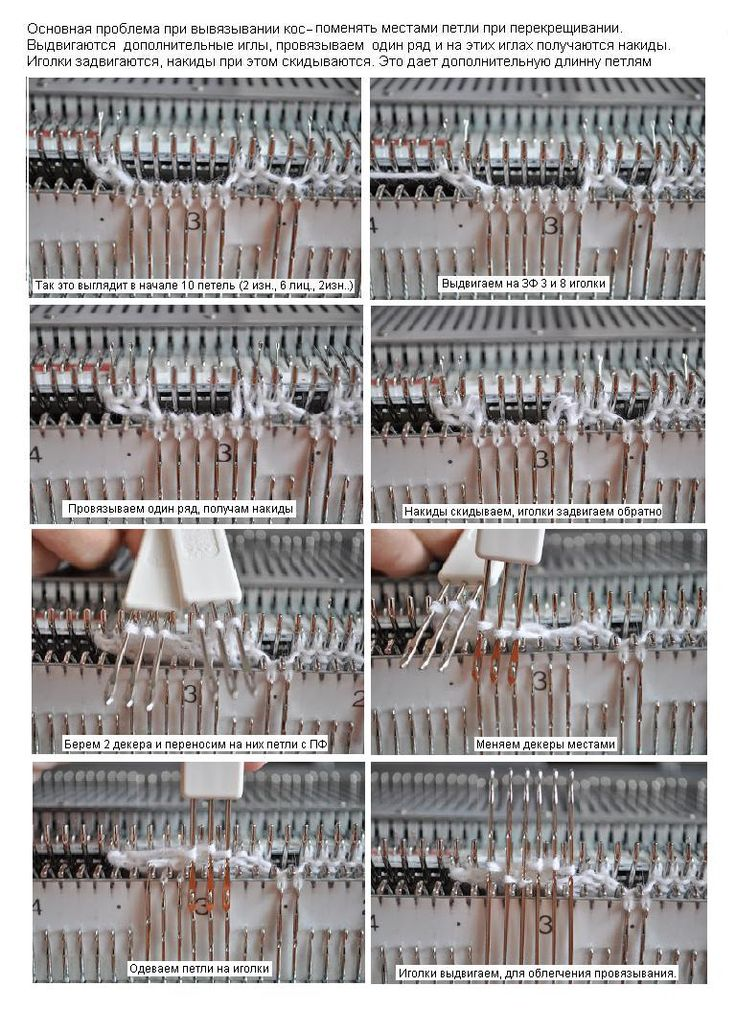 МК вязание аранов или кос