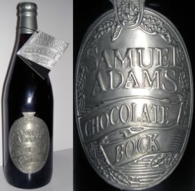 Sam Adams Chocolate Bock with pewter label
