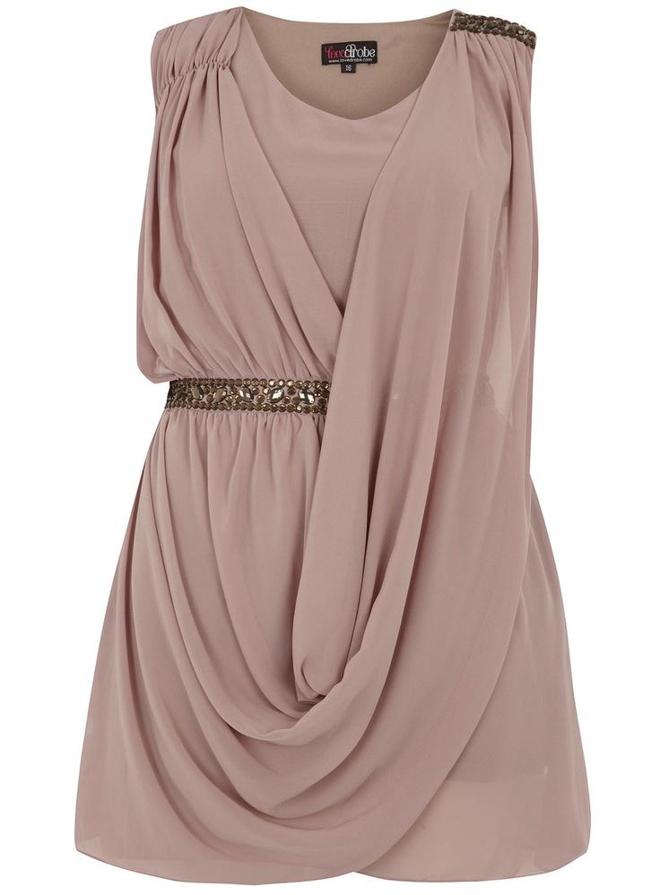 Gorgeous drape: Minis Dresses, Flatter Dresses, Bridesmaid Dresses, Gems Details, Draping Gems, Gorgeous Dresses, Fashionista 3, Gorgeous Draping, Details Dresses