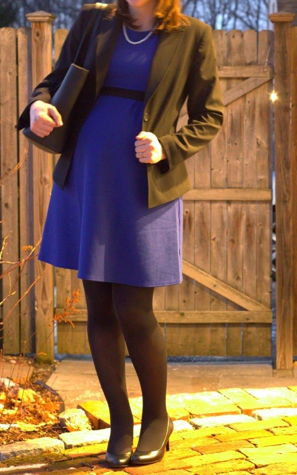 See What Katie Wears: Maternity business formal suiting outfit