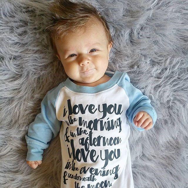 Raglan Baby Gowns | Many Designs