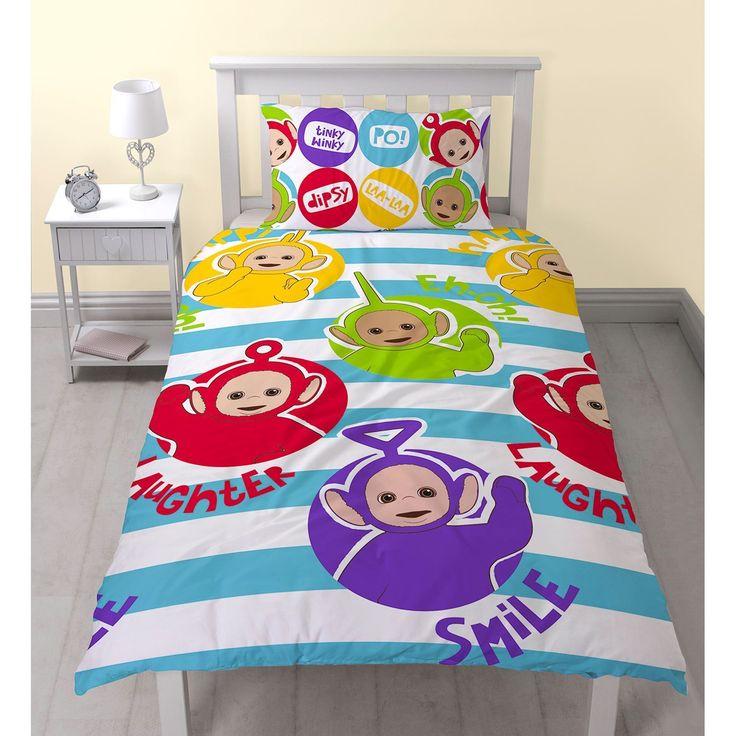 Teletubbies Playtime Single Size Quilt Cover Set. Available at Kids Mega Mart online shop Australia www.kidsmegamart.com.au