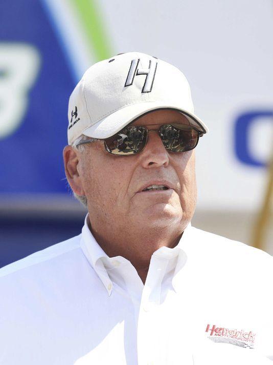 Rick Hendricks gets emotional on Jeff Gordon's final run at NASCAR Homestead next weekend November 22,2015..