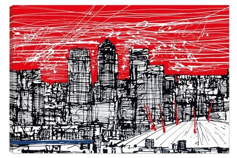 Millennium Skyline by Paul Kenton Available from Westover Gallery £775