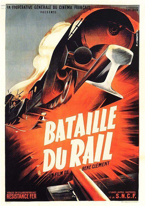 Affiche la Bataille du Rail