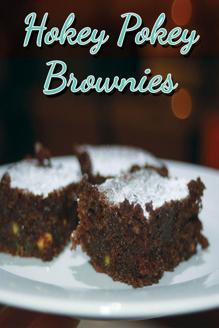 Hokey Pokey Brownies – Gluten Free!