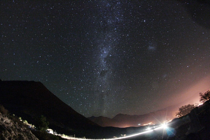 Looking to the Southern Milky Way, Mamalluca, Vicuña, Chile.