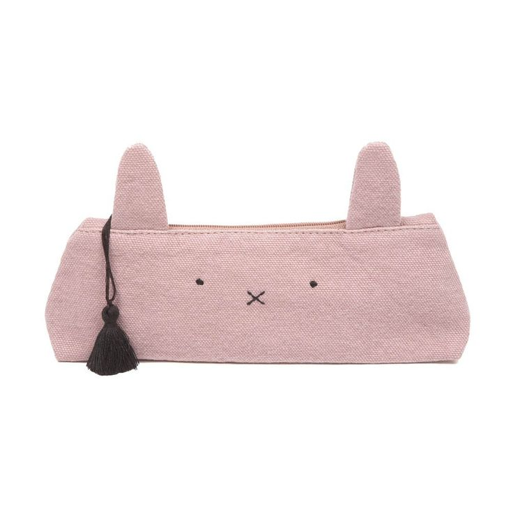 Canvas Bunny Ear Arty Pencil Case Emile et Ida Teen Children- A large selection of Fashion on Smallable, the Family Concept Store - More than 600 brands.