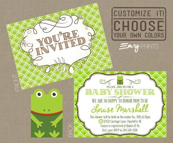 The 25+ best Custom baby shower invitations ideas on Pinterest - free customizable printable baby shower invitations