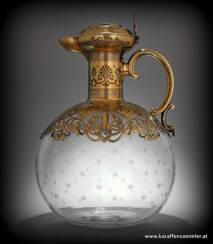 George Fox silver gilt claret jug - London 1866