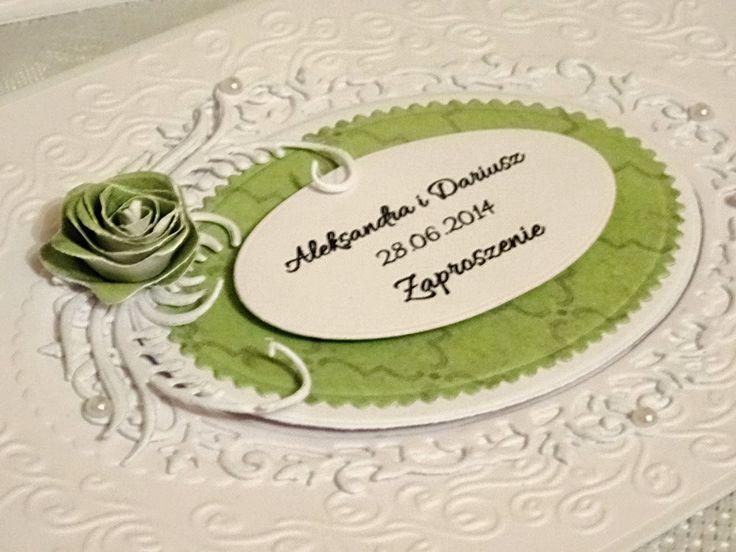 Mój mały świat: Zaproszenia ślubne