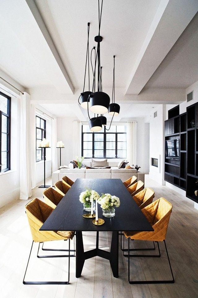 25 beste idee n over lange eettafels op pinterest eetkamer kunst rustieke eetzalen en - Rustieke eetkamer decoratie ...