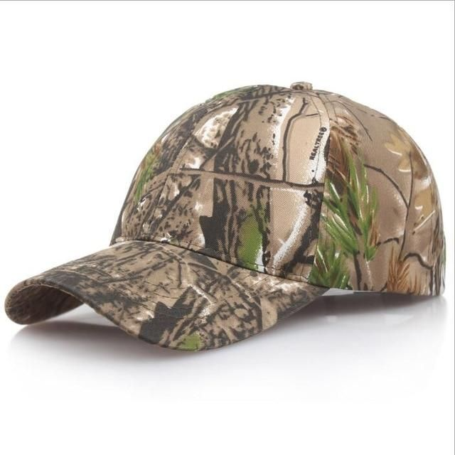 78042a5769c6c Browning Camo Baseball Cap Fishing Caps Men Outdoor Hunting Camouflage  Jungle Hat Airsoft Tactical Hiking Casquette
