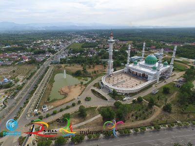 Mesjid Agung Madani Islamic Centre Rokan Hulu | RIAU DAILY PHOTO